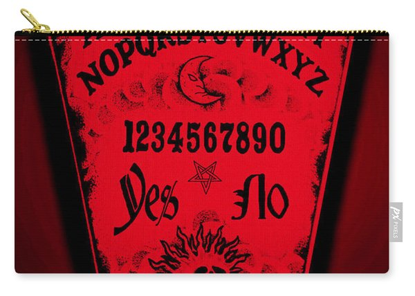 Ouija Coffin Carry-all Pouch
