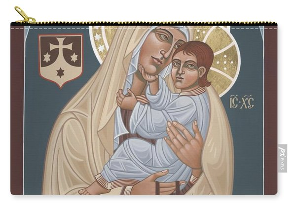 Our Lady Of Mt. Carmel 255 Carry-all Pouch