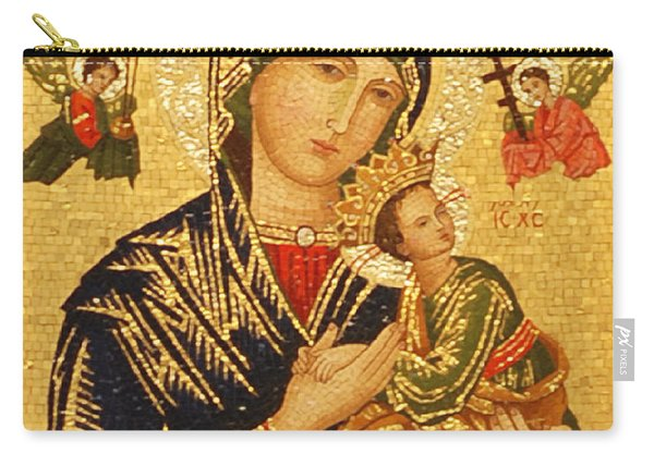 Our Lady Of Perpetual Help  Carry-all Pouch