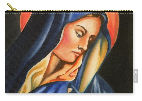 Our Lady Of Sorrows Carry-all Pouch