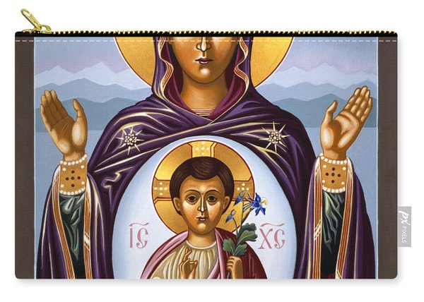 Our Lady Of The New Advent Gate Of Heaven 003 Carry-all Pouch