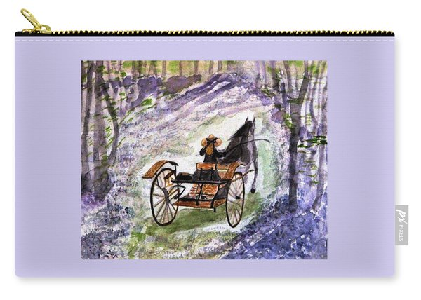 Out In The Meadowbrook Cart Carry-all Pouch