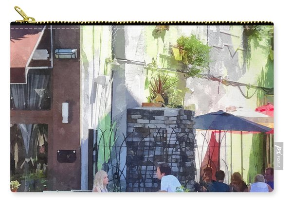 Outdoor Cafe Philadelphia Pa Carry-all Pouch