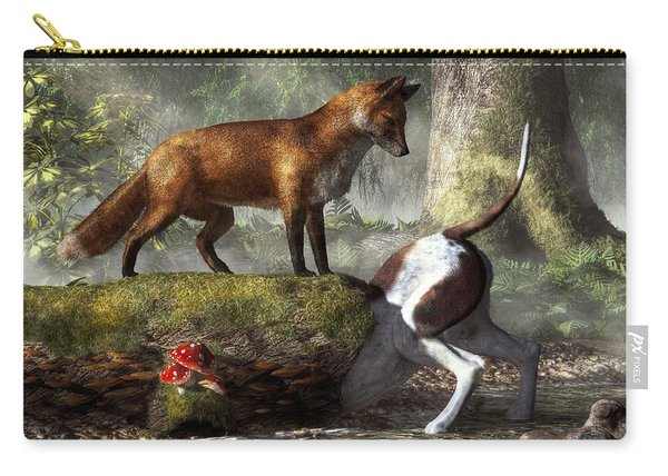 Outfoxed Carry-all Pouch