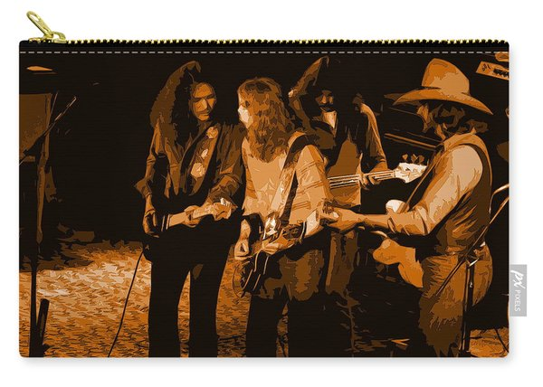 Outlaws #26 Crop 2 Art In Amber Carry-all Pouch