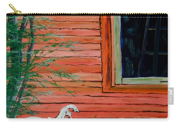 Outside The Artist's Studio Carry-all Pouch