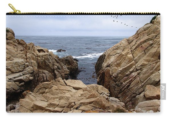 Overcast Day At Pebble Beach Carry-all Pouch