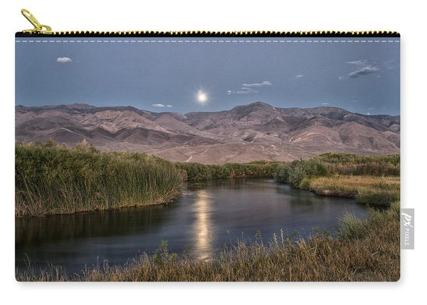Owens River Moonrise Carry-all Pouch