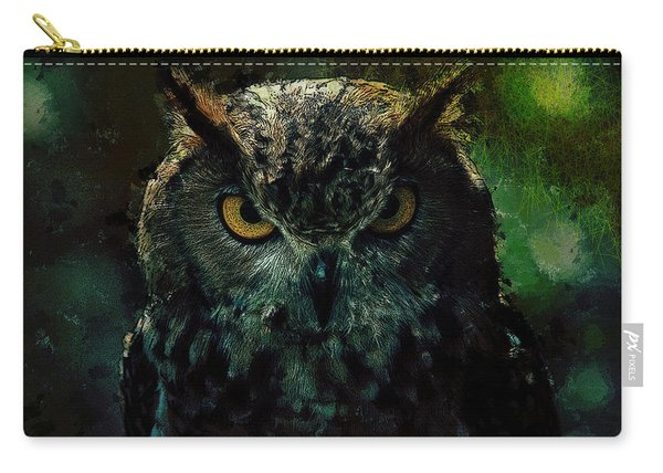 Owlish Tendencies Carry-all Pouch