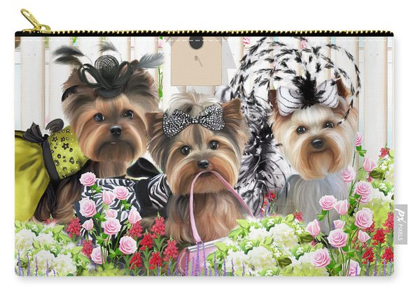Owned By Yorkies II Carry-all Pouch