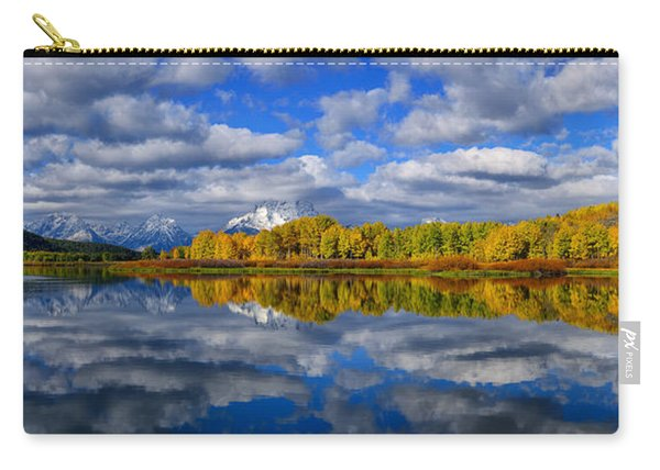 Oxbow Bend Peak Autumn Panorama Carry-all Pouch