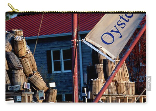 Oystering History At The Maritime Museum In Saint Michaels Maryland Carry-all Pouch