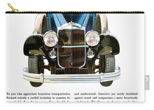 Packard Automobile - Vintage Poster Carry-all Pouch