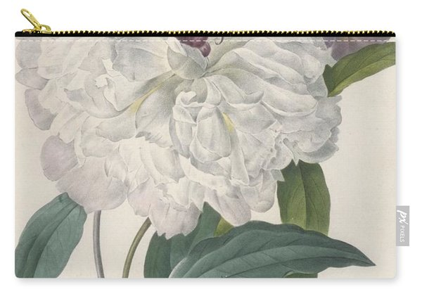 Paeonia Flagrans Peony Carry-all Pouch