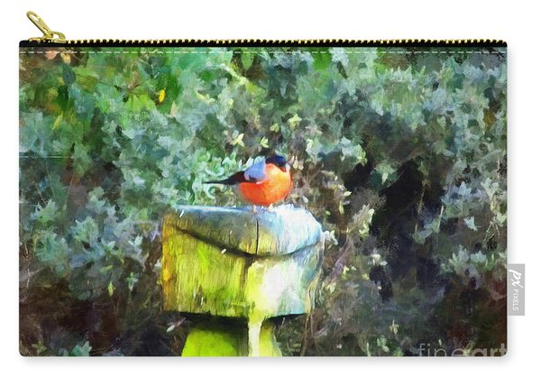 Painted Bullfinch S1 Carry-all Pouch