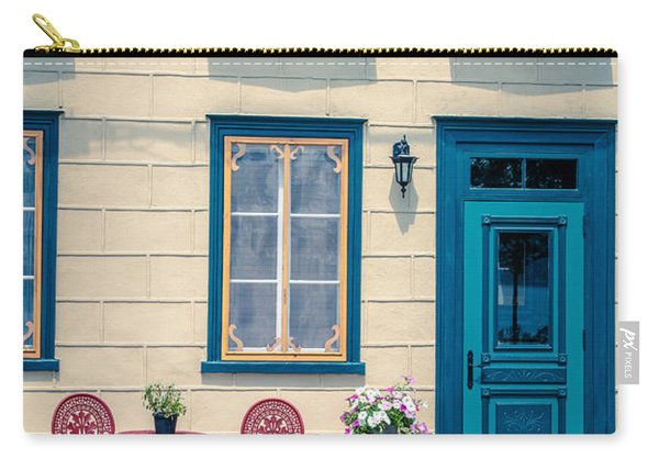 Painted Townhouse In Old Quebec City Carry-all Pouch