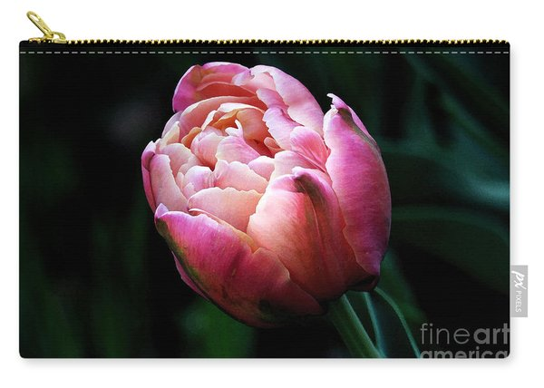 Painted Tulip Carry-all Pouch