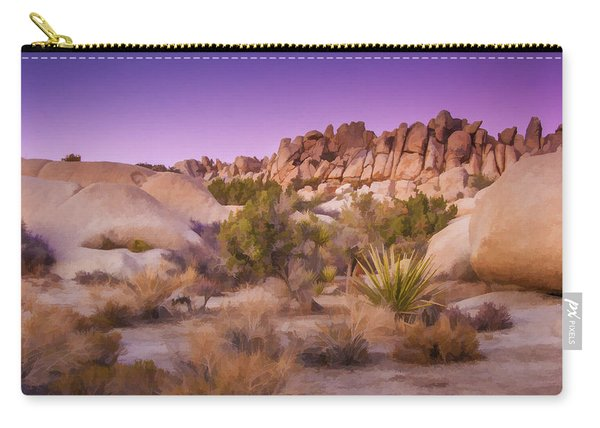 Painterly Desert Carry-all Pouch