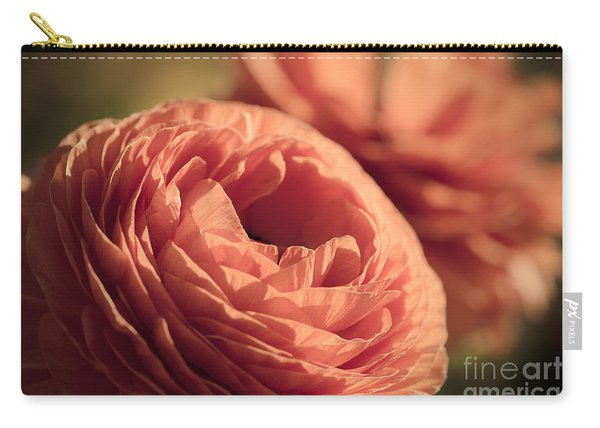 Pale Pink Petals Carry-all Pouch