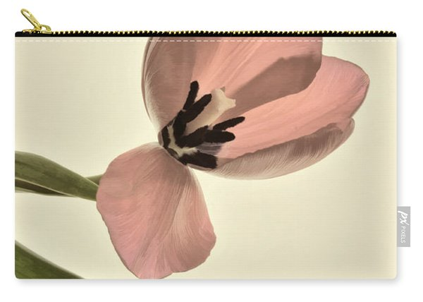 Pale Pink Tulip Carry-all Pouch