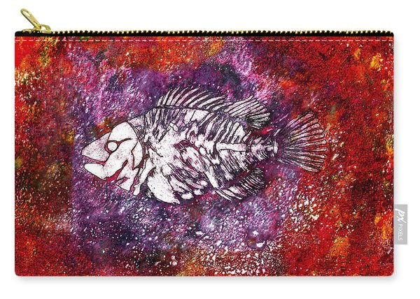 Paleo Fish Carry-all Pouch