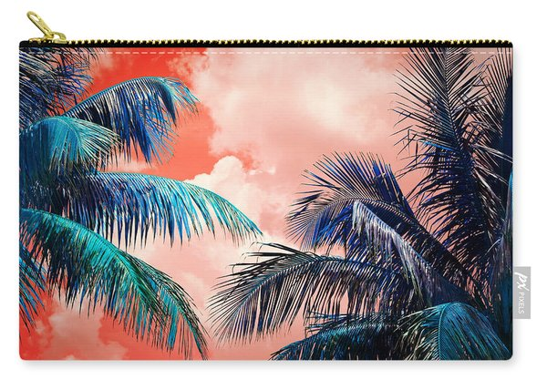 Palmscape Red Carry-all Pouch