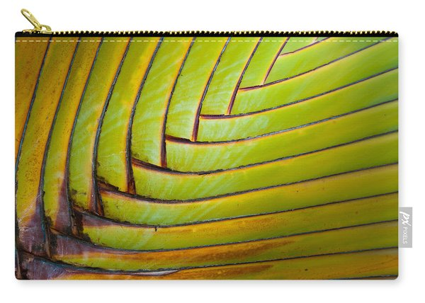 Palm Tree Leafs Carry-all Pouch
