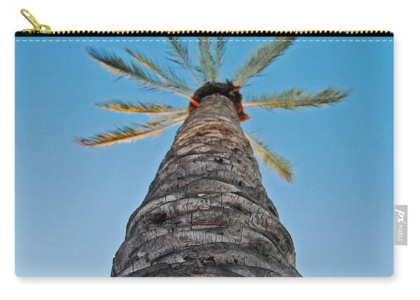 Palm Tree Looking Up Carry-all Pouch