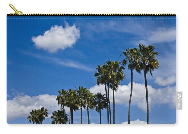 Palm Trees In San Diego California No. 1661 Carry-all Pouch