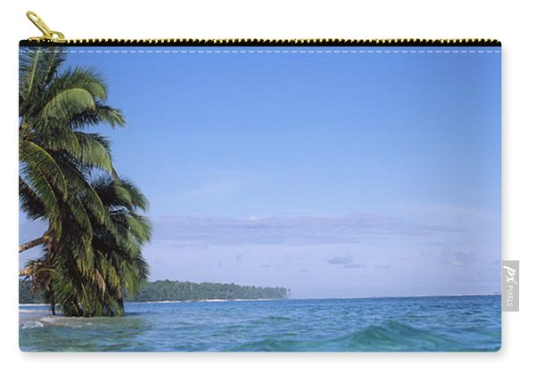 Palm Trees On The Beach, Indonesia Carry-all Pouch