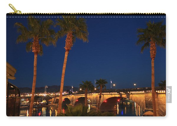 Palms At London Bridge Carry-all Pouch