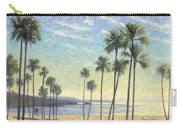 Palms Bursting In Air Carry-all Pouch