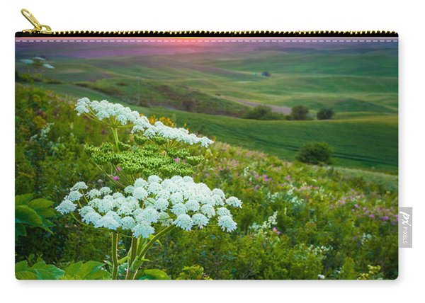 Palouse Flowers Carry-all Pouch