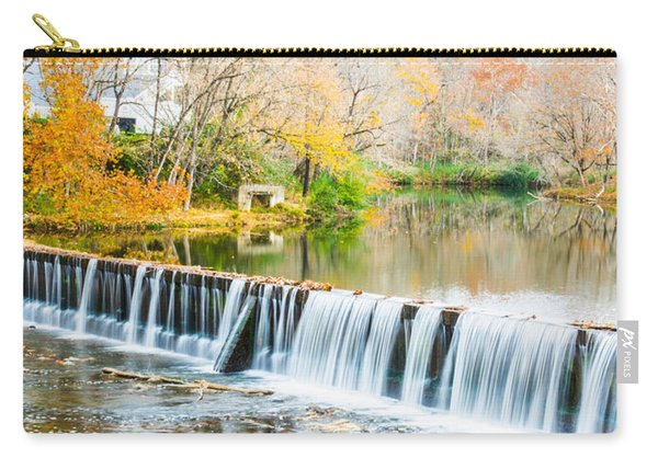 Panorama Of Buck Creek In Autumn Carry-all Pouch