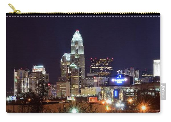 Panoramic Charlotte Night Carry-all Pouch