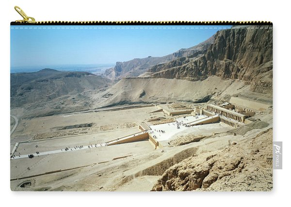 Panoramic View Over Hatschepsut Temple Carry-all Pouch