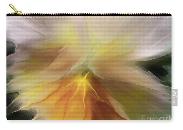 Pansy Art Carry-all Pouch