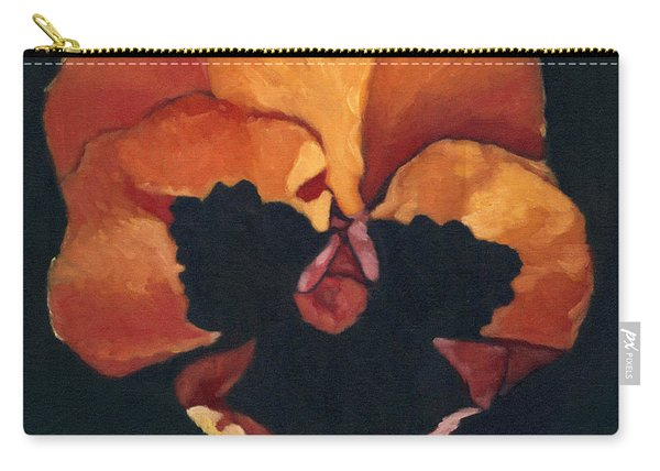 Pansy No.6 Carry-all Pouch