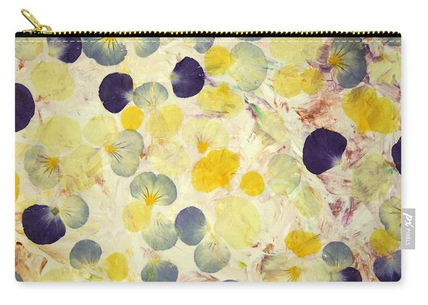 Pansy Petals Carry-all Pouch