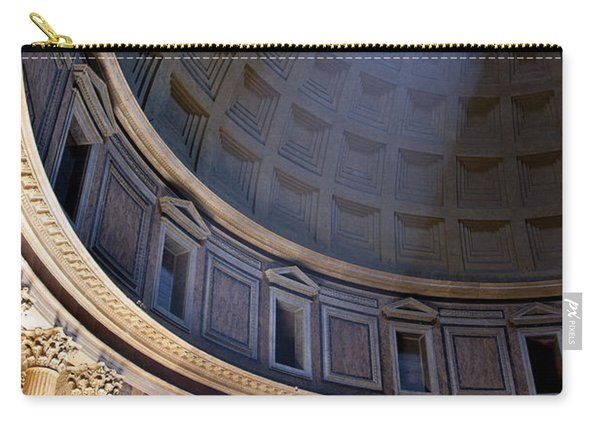 Carry-all Pouch featuring the photograph Pantheon Interior by Brian Jannsen