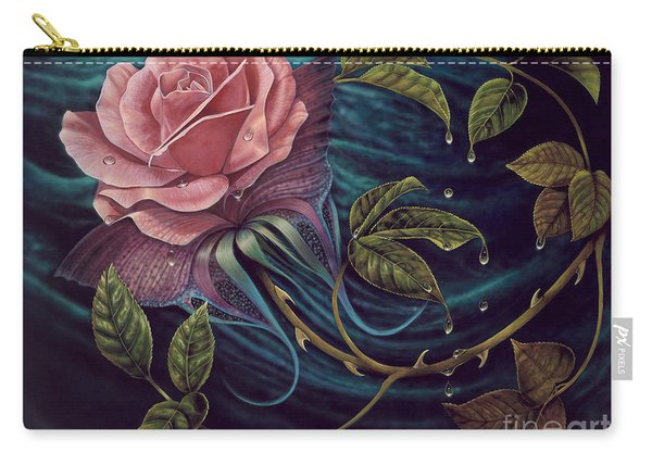 Papalotl Rosalis Carry-all Pouch