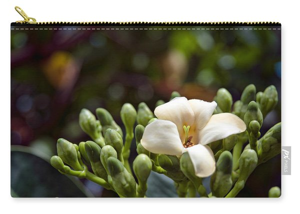 Papaya Flower Carry-all Pouch