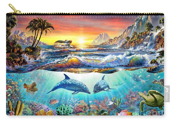 Paradise Bay Carry-all Pouch