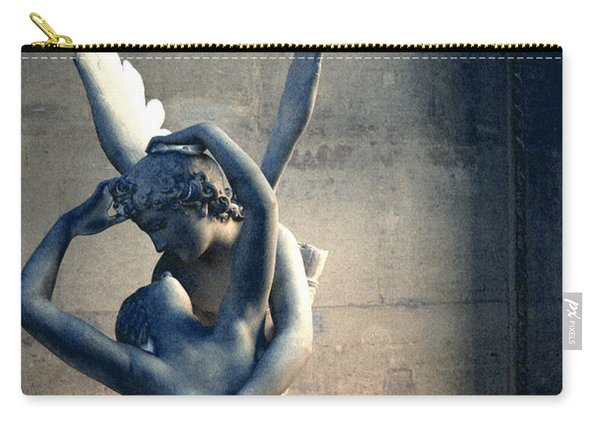 Paris Eros And Psyche Romantic Lovers - Paris In Love Eros And Psyche Louvre Sculpture  Carry-all Pouch
