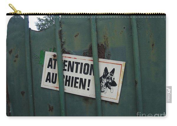 Paris - Farm Dog Carry-all Pouch