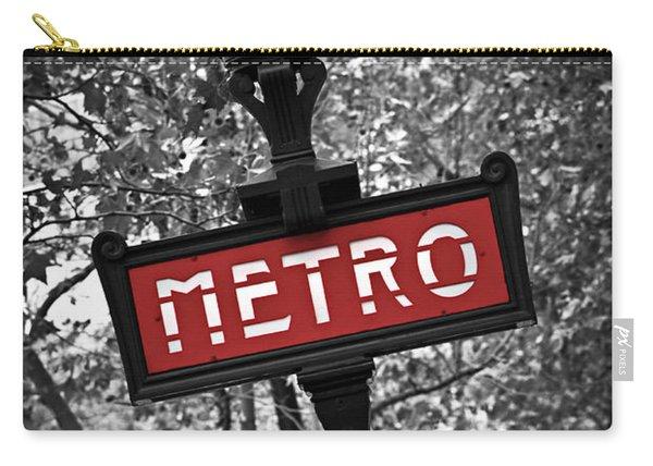 Paris Metro Carry-all Pouch
