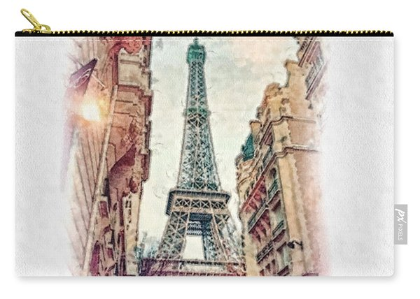 Paris Mon Amour Carry-all Pouch