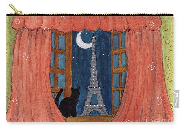 Paris Moonlight Carry-all Pouch