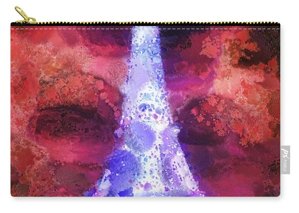 Paris Night Carry-all Pouch