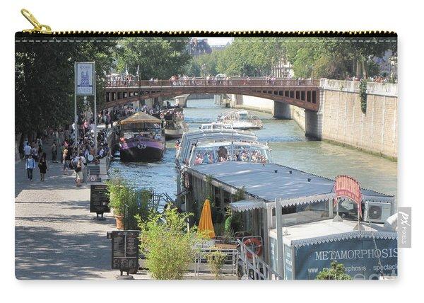 Paris - Seine Scene Carry-all Pouch